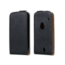 Phone genuine leather flip case for sony ericsson xperia neo mt15i