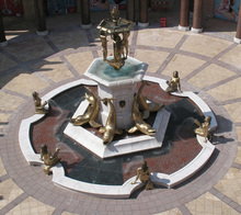 life large size bronze or marble stone sculpture water fountain for outdoor