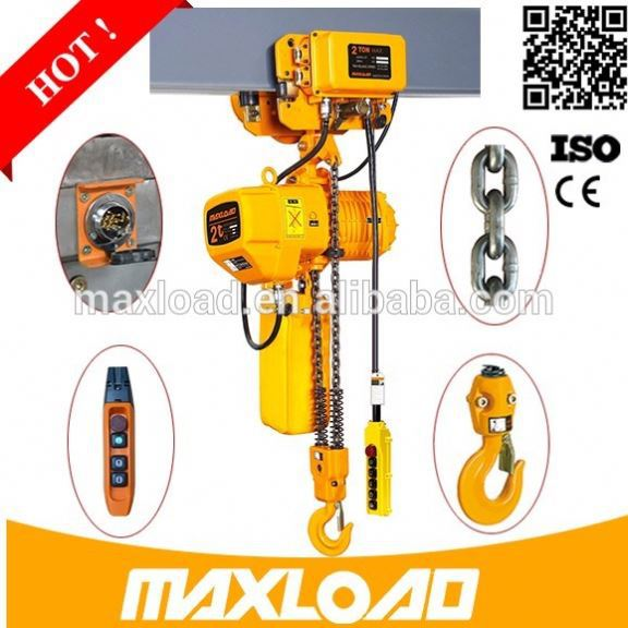 1T Monorail Beam Pneumatic Manual Lever Hoist