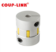 Jaw spider flexible coupling magnetic torque limiter coupling