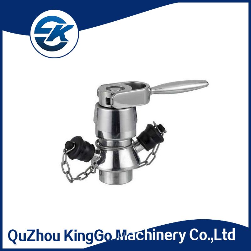 Automatic Return Type Welded Aseptic sanitary Sampling Valve