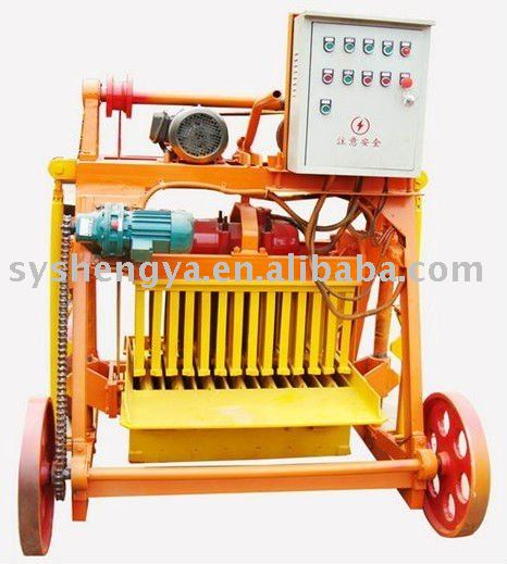 QMY4-45 Egg Laying Block Making Machine,Mobile Block Machine