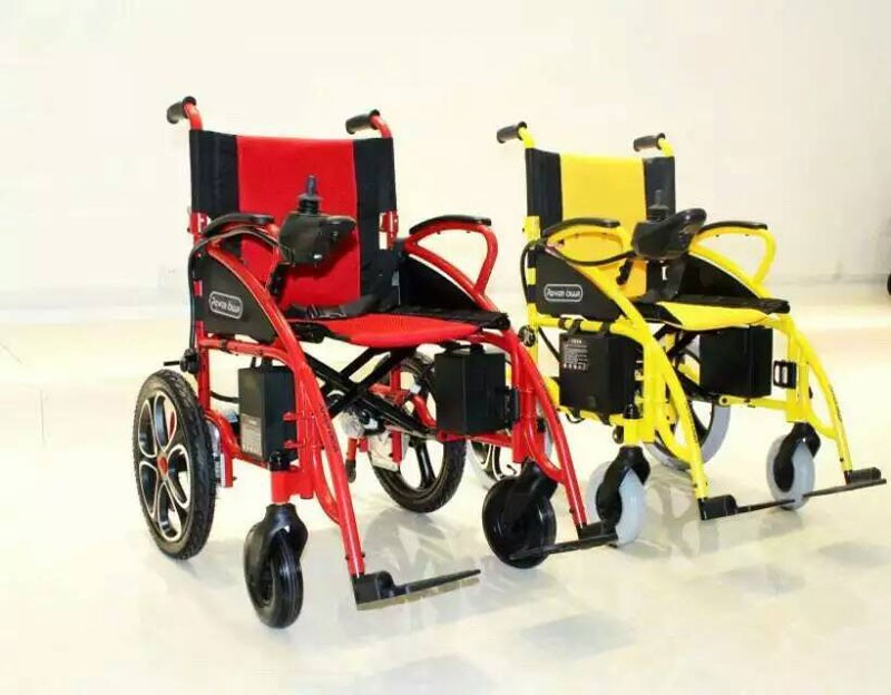Stair climbing foldable disabled power electric wheelchair for Motorized chair stair climber electric evacuation wheelchair electric wheelchair