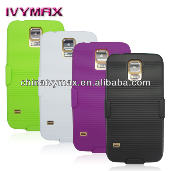 holster combo case for samsung galaxy s5 case para smartphone