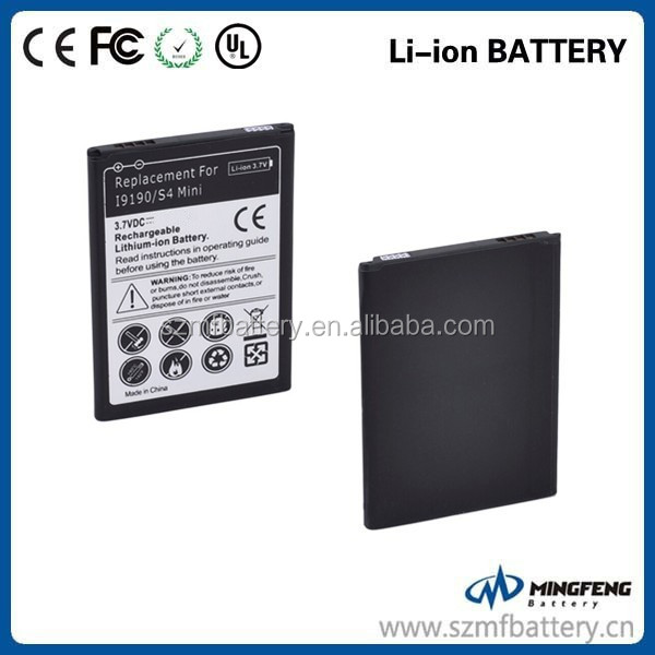 Long lasting batteries for samsung galaxy s4 mini mobile phone battery