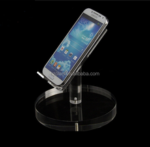 New Style Acrylic Phone Display Stand Clear Retail Display Stand