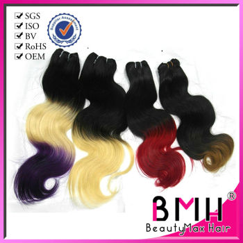 Wholesale brazilian bodi wave ombre hair