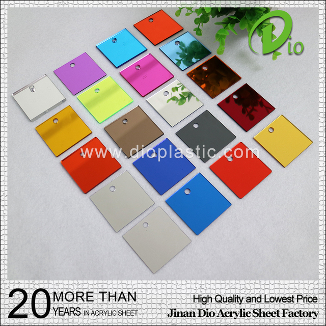 factory top quality 2mm 4mm mirror acrylic sheet for sublimation