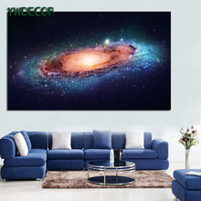 Factory price universe scenery art pictures for living room framed