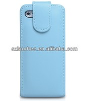 New arrival High Quality PU Leather Flip Case for iphone5 laudtec leather cover