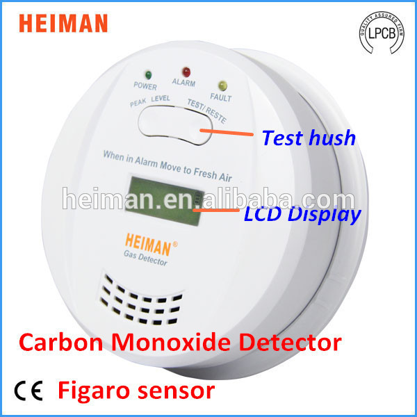 Factory prices 3V battery operated natural gas carbon monoxide