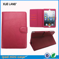 Magnetic slim book flip case for iPad mini