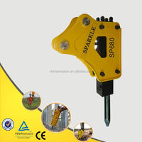 Hydraulic Breaker For Sunward Excavator SPARKLE SP680(Side Type)