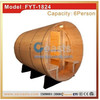 Hand-crafted lumber profiles and wall sections Canopy Barrel Sauna room sauna stove for sales