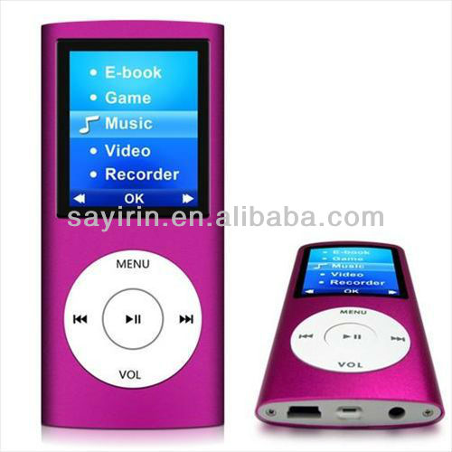 "Newest style 1.8""big screen MP3 MP4 player"