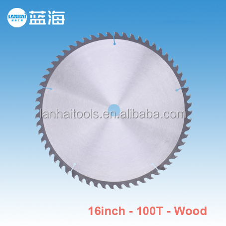 16''-100T Factory Directly Provide Durable Professional Manufacturer Supplier Wood Cutting Alloy Saw Blade