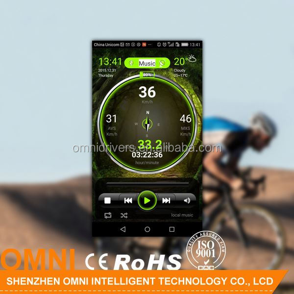 GPS bicycle with speed distance cadence altimeter timer cycling computer with good price