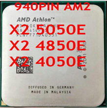 for AMD X2 5050e 4850e 4050e 940pin Socket AM2 45W cpu