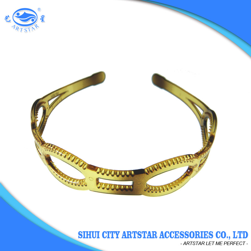 Hot sale indian style PC 24 mm fashion headband for women