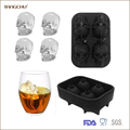 High Quality Skull Shape Ice Cube Tray For Party
