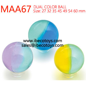 32mm Clear Rubber Bouncy Balls Wholesale