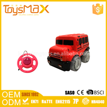 Kids gift wholesale funny remote control plastic toy bus with certificates