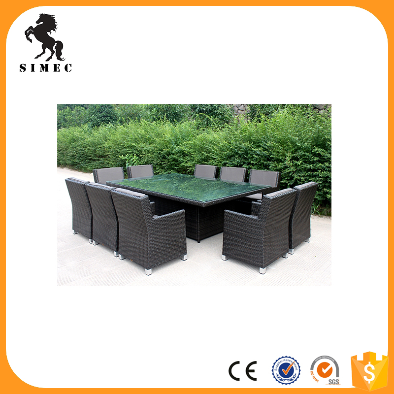 Hot sale outdoor artificial white rattan furniture