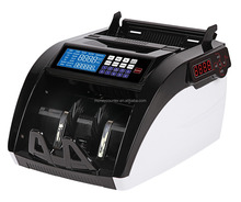AL-6100A Counterfeit Portable Multi Currency Counter Money Counting Machine Bill Detector Banknote Sorter
