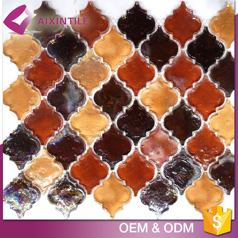 Building Material Backsplash Rhombus Mosaic Floor Tile Stickers