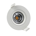 2017 newest integral lamp body with radiator led downlight