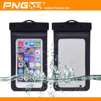 High quality swimming use pvc waterproof bag pouch and case for mobile phone