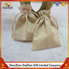 Plain Eco-Friendly Pouch Drawstring Linen Bag For Jewelry