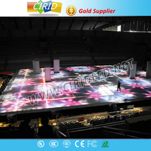 Popular stage background indoor and outdoor P10 led curtain display/stage video wall led curtain panels