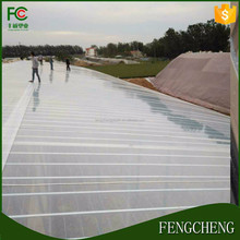 china factory high quality 6 mil thickness transparent/blue/yellow color greenhouse plastic film