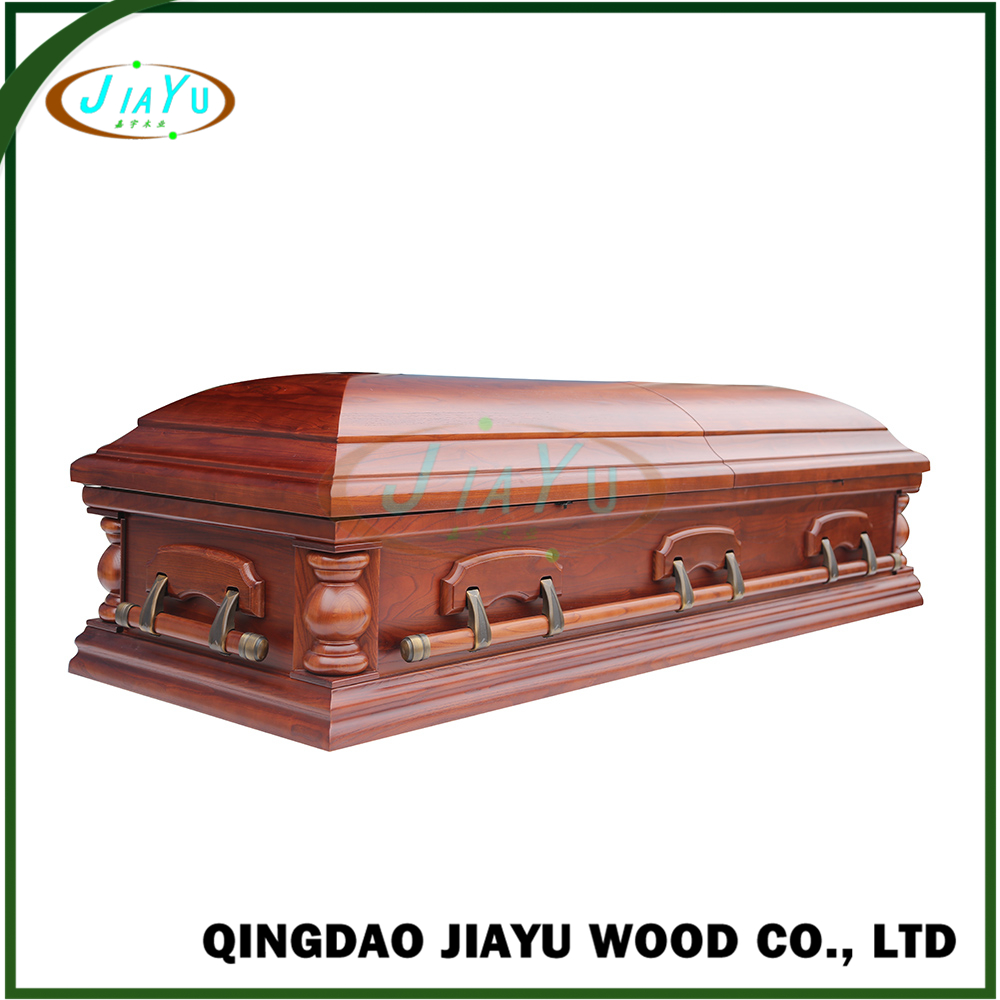 American style chinese factory direct good quality wood casket coffins