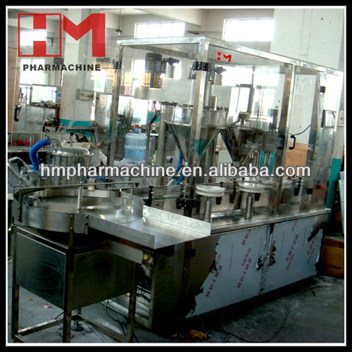 Pharmaceutical Vial Powder Filling and Capping Machine