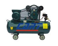 70L Hand held air compressor piston 2 cylinder portable for moving