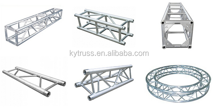 Trusst portable mobile dj truss system arch truss buy for Cheap truss systems
