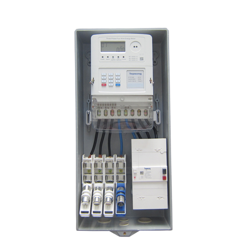 3 Phase Electricity Electromechanical Kwh Meter Energy Meter Box