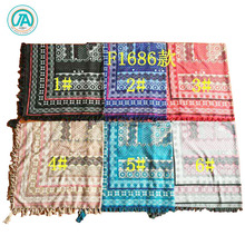 Men Women Winter Windproof Scarf Muslim Hijab Tactical Desert Arabic Keffiyeh Scarf Cotton Warm Scarves