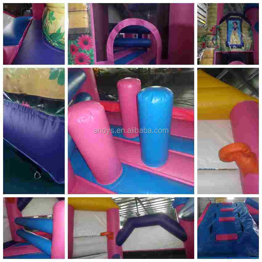 Inflatables princess combo for commercial use