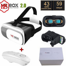 3D VR Goggles Display Virtual Reality Glasses Universal for iOS-Android Samsung HTC