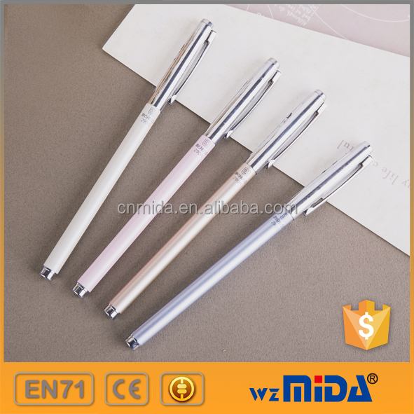 best selling metal gel ink pen for office use no leakage MD-Z9011