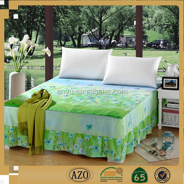 China manufacture 100% cotton jacquard cheap bed sheets for sale