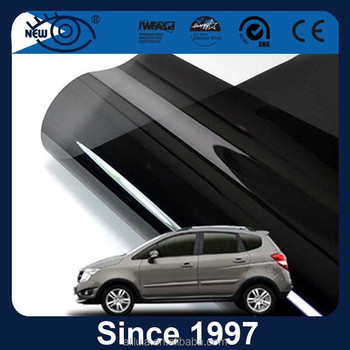 Factory supply anti glare 2 ply glue tinted solar control Side Window Film