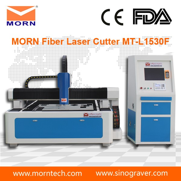 High precision 1530 cnc laser metal cutting machine price , fiber laser