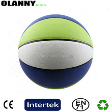 silk screen printing mini size match outdoor sport logo printing basketball