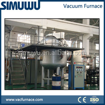 VIM furnace, vacuum arc melting furnace for automated melting of superalloys, steels, titanium, and high temperature alloys,