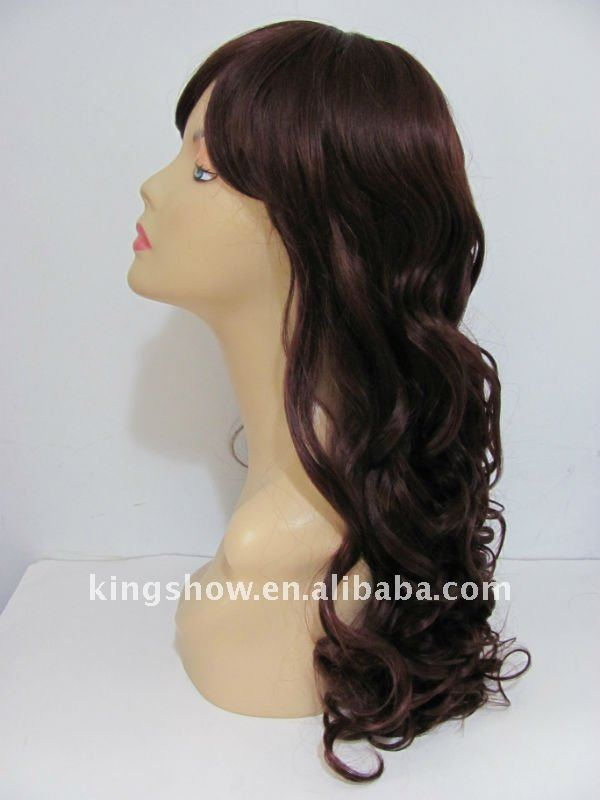 Cheap Synthetic hair machine made wigs