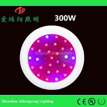 hot sales IHY UFO full spectrum 300w high power led grow light led with 3 years warrantty